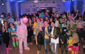 80's night Newport village hall