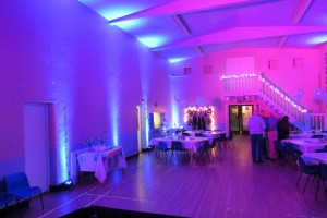 Mobile Disco Services Mood Lighting St John's Church Hall Stansted